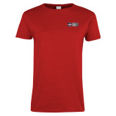 Ladies Red T Shirt-Heavy Duty Parts Horizontal