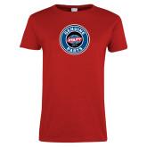 Ladies Red T Shirt-Genuine Parts