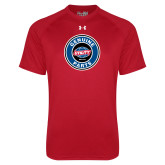 Under Armour Red Tech Tee-Genuine Parts