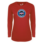 Ladies Syntrel Performance Red Longsleeve Shirt-Genuine Parts