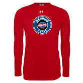 Under Armour Red Long Sleeve Tech Tee-Genuine Parts