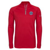 Under Armour Red Tech 1/4 Zip Performance Shirt-Genuine Parts