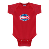 Red Infant Onesie-Utility