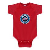 Red Infant Onesie-Genuine Parts