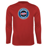 Performance Red Longsleeve Shirt-Genuine Parts