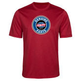 Performance Red Heather Contender Tee-Genuine Parts