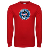 Red Long Sleeve T Shirt-Genuine Parts