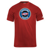Russell Core Performance Red Tee-Genuine Parts
