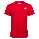 Red T Shirt w/Pocket-Utility