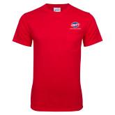 Red T Shirt w/Pocket-Utility w Tagline