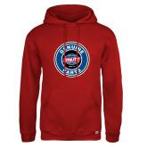 Russell DriPower Red Fleece Hoodie-Genuine Parts