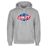 Grey Fleece Hoodie-Utility