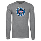 Grey Long Sleeve T Shirt-Genuine Parts