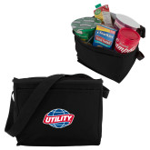 Six Pack Black Cooler-Utility