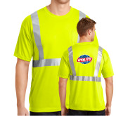 Safety Yellow ANSI 107 Class 2 Safety T Shirt w/Pocket-Utility