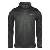 Russell Charcoal Heather 1/4 Zip-Heavy Duty Parts Horizontal