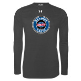 Under Armour Carbon Heather Long Sleeve Tech Tee-Genuine Parts