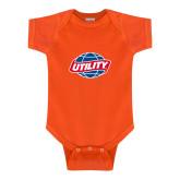 Orange Infant Onesie-Utility