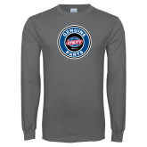 Charcoal Long Sleeve T Shirt-Genuine Parts