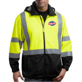 Safety Yellow ANSI 107 Class 3 Safety Windbreaker-Utility