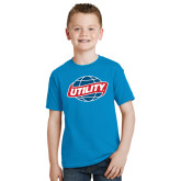 Youth Sapphire T Shirt-Utility