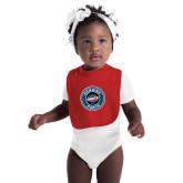 Red Baby Bib-Genuine Parts