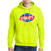 Safety Green Fleece Hoodie-Utility