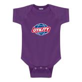 Purple Infant Onesie-Utility