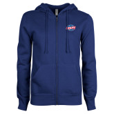 ENZA Ladies Royal Fleece Full Zip Hoodie-Utility
