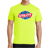 Safety Green T Shirt-Utility
