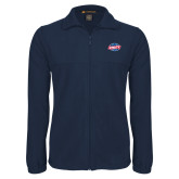 Fleece Full Zip Navy Jacket-Utility