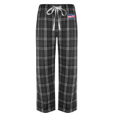 Black/Grey Flannel Pajama Pant-Utility