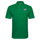 Kelly Green Textured Saddle Shoulder Polo-Utility