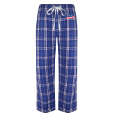 Royal/White Flannel Pajama Pant-Utility