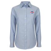 Ladies Light Blue Oxford Shirt-Utility