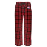 Red/Black Flannel Pajama Pant-Utility