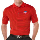 Callaway Core Stripe Red/Black Polo-Utility