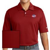 Nike Dri Fit Red Pebble Texture Sport Shirt-Utility