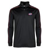 Nike Golf Dri Fit 1/2 Zip Black/Red Pullover-Utility