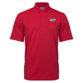 Red Mini Stripe Polo-Utility