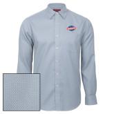 Red House Light Blue Diamond Dobby Long Sleeve Shirt-Utility