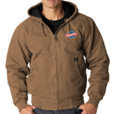 DRI DUCK Cheyenne Field Khaki Hooded Jacket-Utility