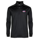 Nike Golf Dri Fit 1/2 Zip Black/Grey Pullover-Utility