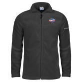 Columbia Full Zip Charcoal Fleece Jacket-Utility