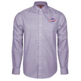 Red House Purple Plaid Long Sleeve Shirt-Utility