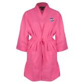 Hot Pink Waffle Kimono Robe-Utility