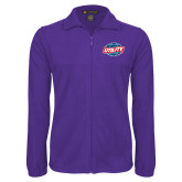 Fleece Full Zip Purple Jacket-Utility