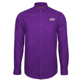 Red House Purple Long Sleeve Shirt-Utility