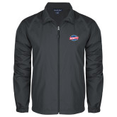 Full Zip Charcoal Wind Jacket-Utility