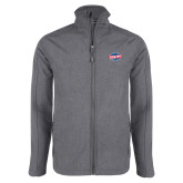 Grey Heather Softshell Jacket-Utility